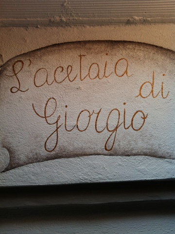 acetaia di Giorgio guided visit