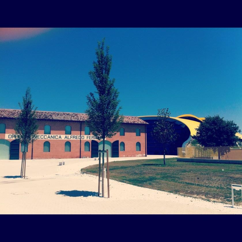 Ferrari museum in Modena