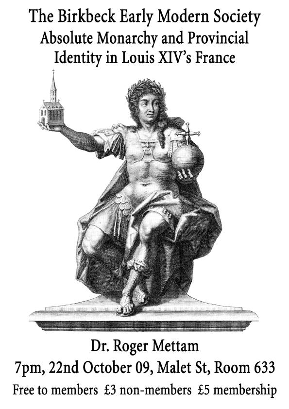 Dr Roger Mettam Event Poster