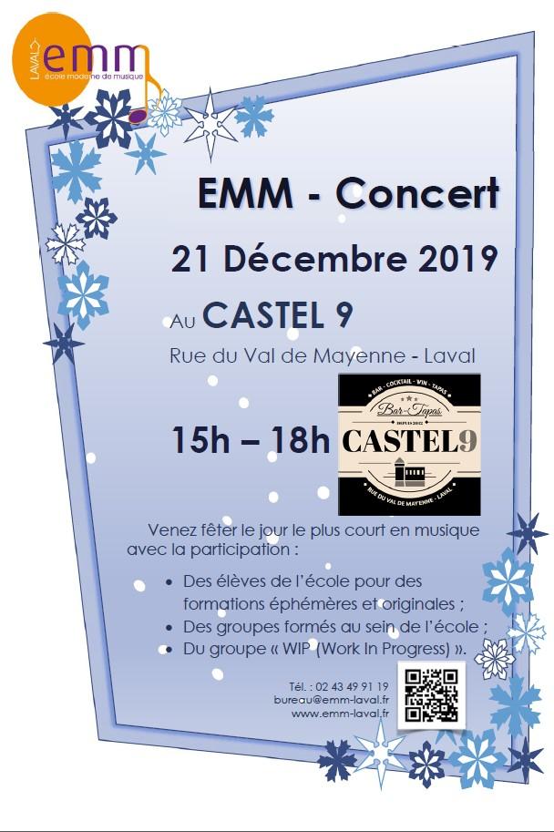 Concert fin d'année