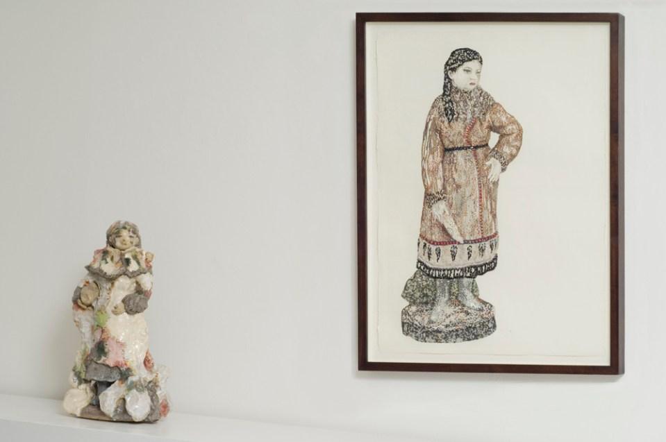 DENISE DE CORDOVA Arctic Stones and Siberian Dona, 2010-2011