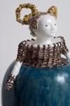 DENISE DE CORDOVA Olga - cuffed, sans pierres 2011 earthstone and glaze, 98 x 60 x 60cm