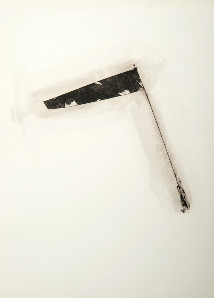 TERRY SMITH Untitled, Cuba 2, 2014, mixed media on paper, 45 x 32.5cm