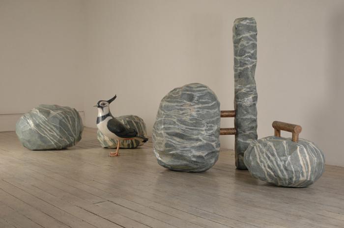 DENISE DE CORDOVA Brontes and the Gogottes, 2007,mixed media, 145 x 400 x 200cm
