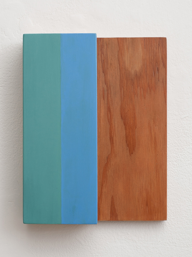 KEVIN FINKLEA Free Falling Divisions no. 11, 2010, acrylic on poplar /plywood, 22 x 17.5 x 5.5cm