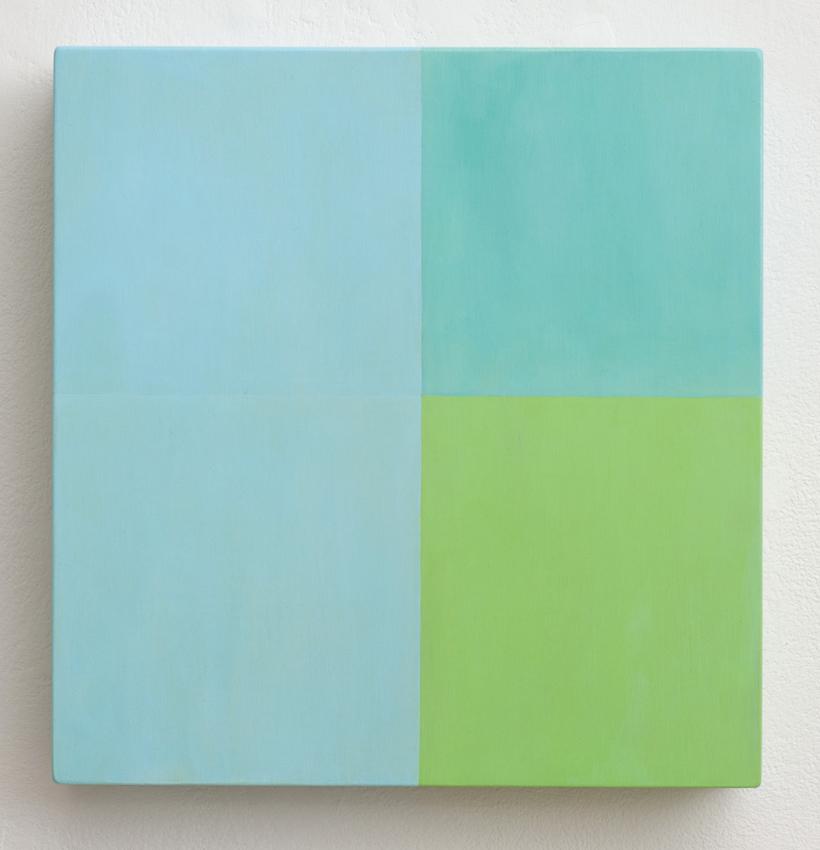 KEVIN FINKLEA, PNL0815, 2014, acrylic on poplar panel, 30 x 28.5cm