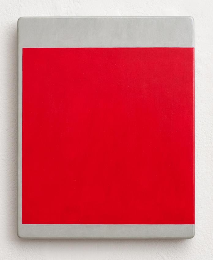 KEVIN FINKLEA Shift-C Serentil, 2003, acrylic on MDF, 25 x 20cm