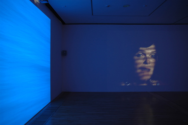 TERRY SMITH Broken Voices, 2007, film installation