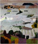 PETER RASMUSSEN Andalusian Landscape, 1999, oil on paper, 150 x 130cm