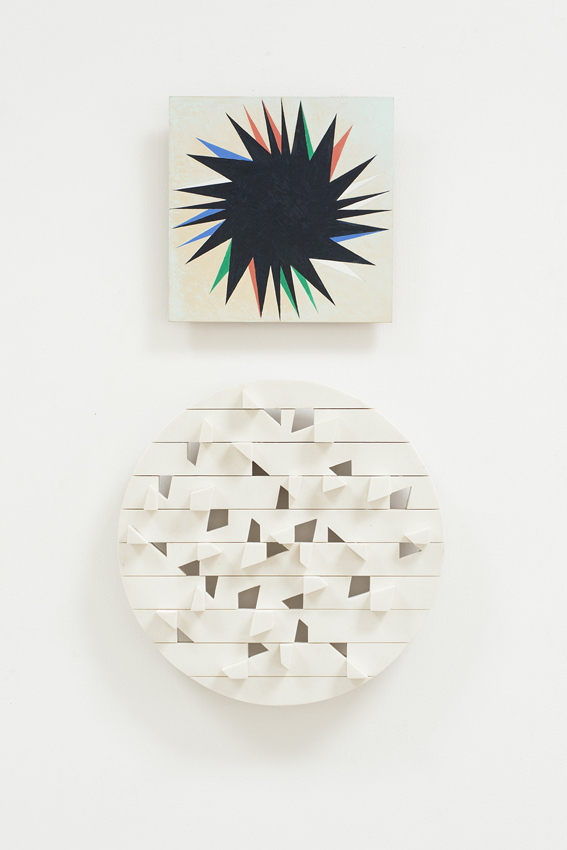 NATALIE DOWER Traveling Star, 1996 & Dudeney Circle, 1989