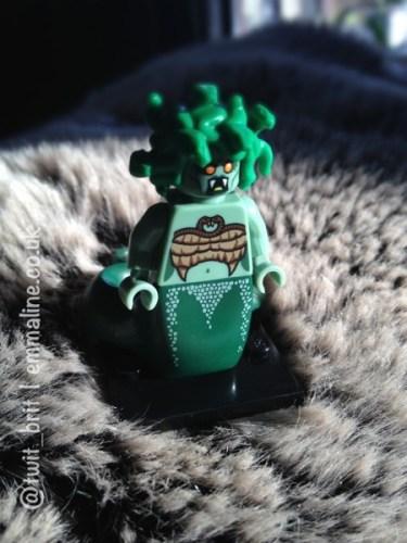 Lego minifigure medusa monster