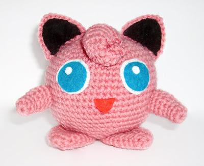 Jigglypuff crochet pattern knitting plushie