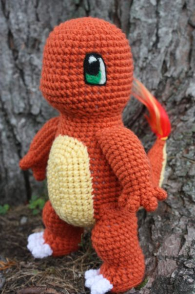 Crochet charmander pokemon