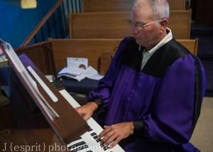 Organist Robe