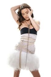 Emmanuelle Vaugier elegant photoshoot