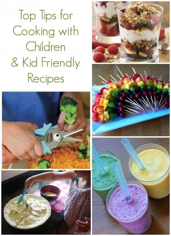 Top Tips for Cooking with Children + Kid Friendly Recipes to cook together!