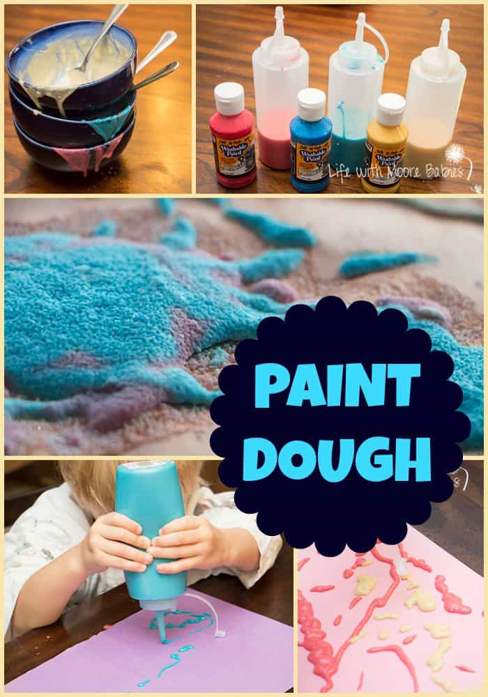 Paint Dough - Fun way for Kids to Paint