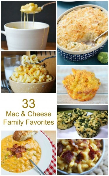 33 ways with macaroni and cheese
