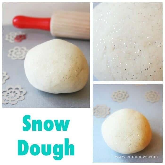 Snow Dough - A great Kids Winter Craft