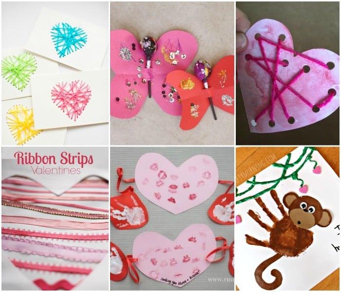Child Made Valentines Cards