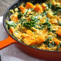 Sweet Potato Pineapple Curry