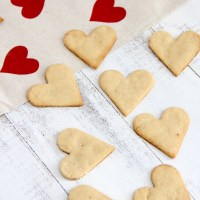 Simple Almond Hearts