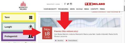 BOOKCITY MILANO 2017 - DILA presente nell'Auditorium MUDEC Milano 18 Novembre 2017