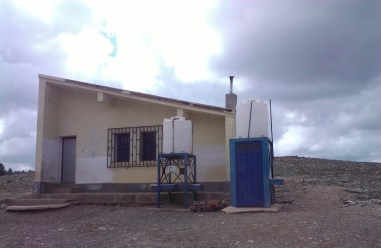 The school recently constructed by the NGO for children who would otherwise have no education.