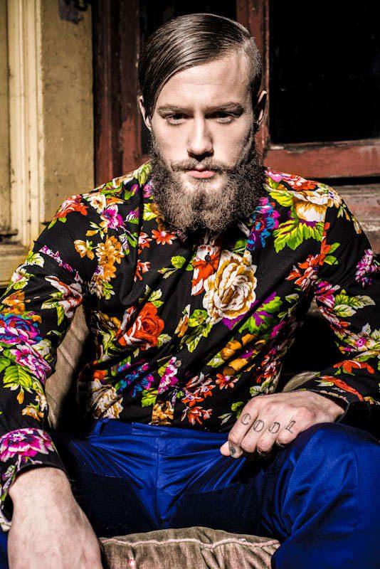 Men's Floral Print Trend of 2014