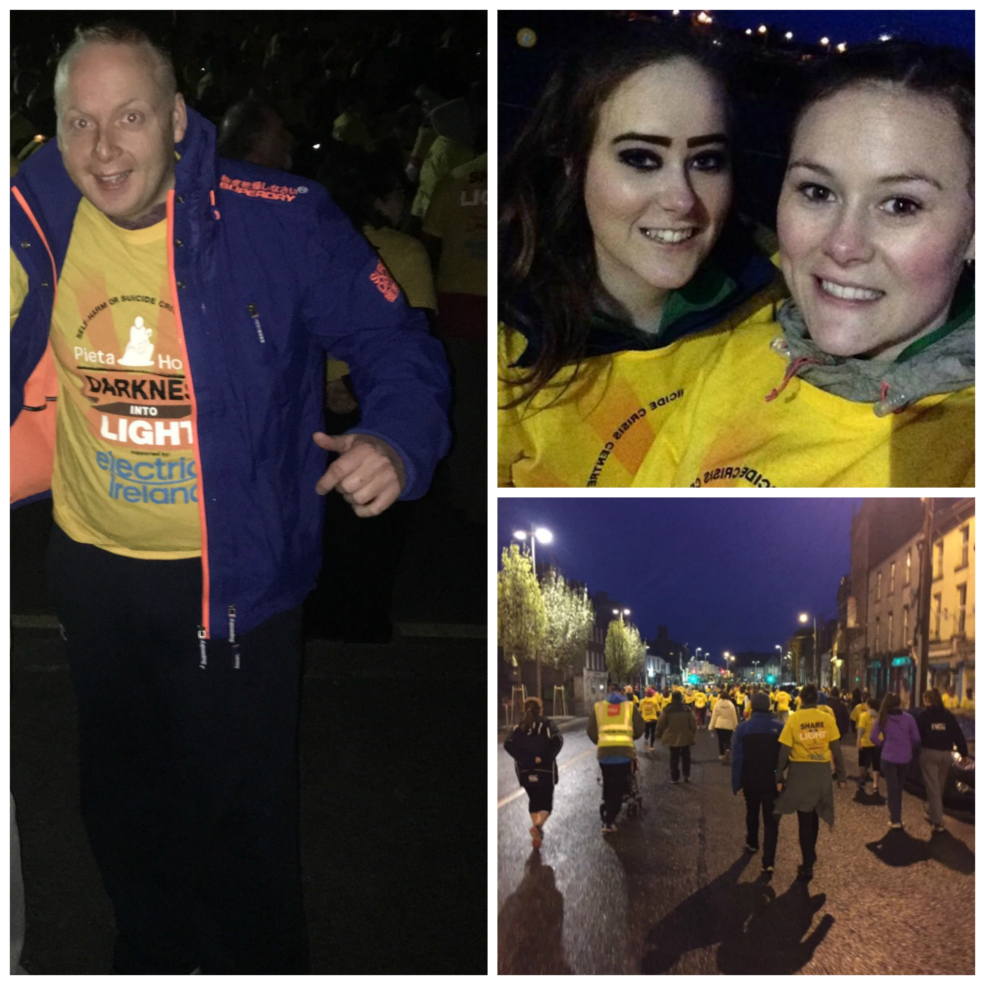 Darkness Into Light Collage