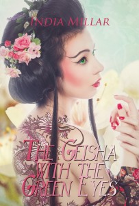 E-BOOK FRONT - The Geisha with the Green Eyes