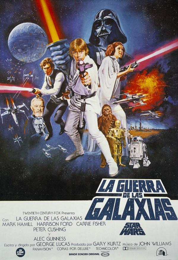 La guerra de las galaxias (1977) de George Lucas