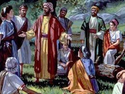 Pablo y Bernabé en Antioquía