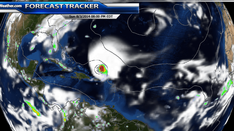 Invest 93L Starting to Look Like The Next Named Storm