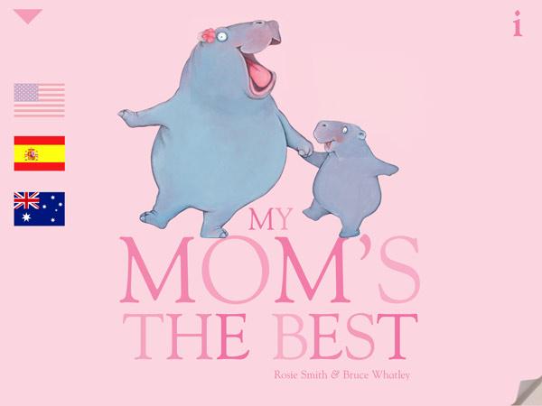 Liebevolle Bilderbuch App zum Muttertag