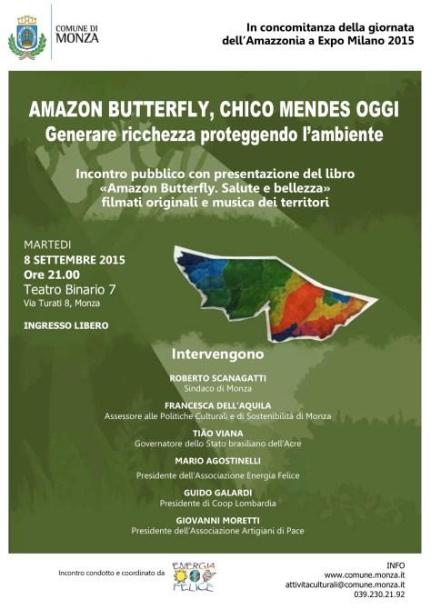 8_settembre_Locandina incontro sull'Amazzonia