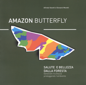 Amazon Butterfly Salute e Bellezza dalla foresta