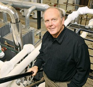 Tim Michels in a boiler room - Sustainable Alliances Finalist