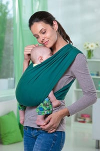 écharpe-de-portage-bébé