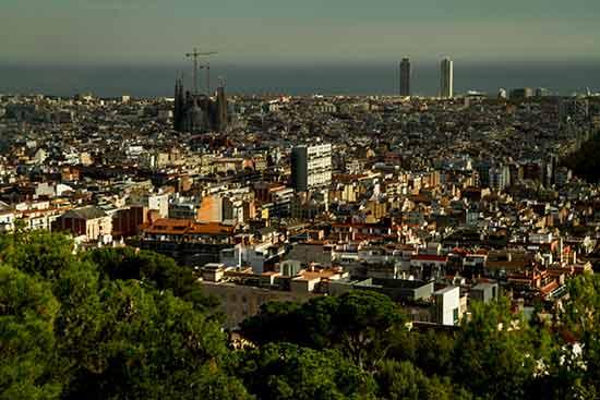 vue-sur-barcelone-depuis--park-guell