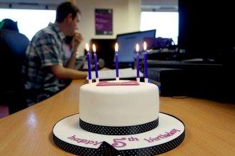 Engage Web's 5th Birthday Cake
