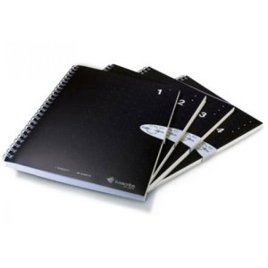 livescribe a5 lined notebook 4-pack