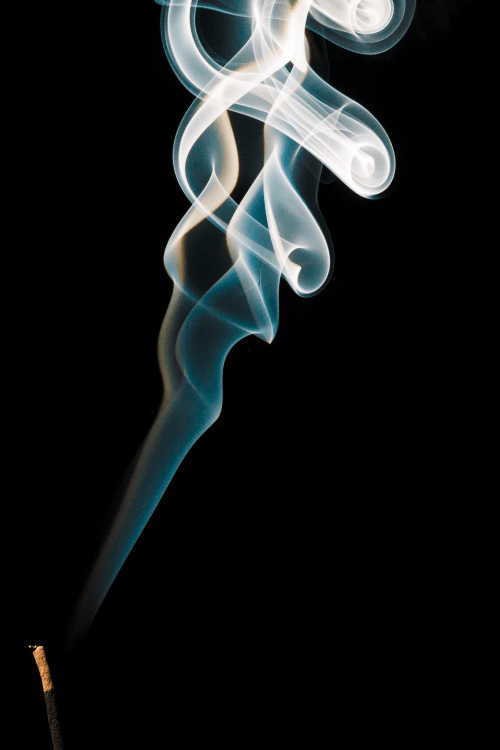 Often termed the problem of the millennium, determining the location of transition from laminar to turbulent flow still remains nearly impossible; a smoke plume rises from an incense stick.