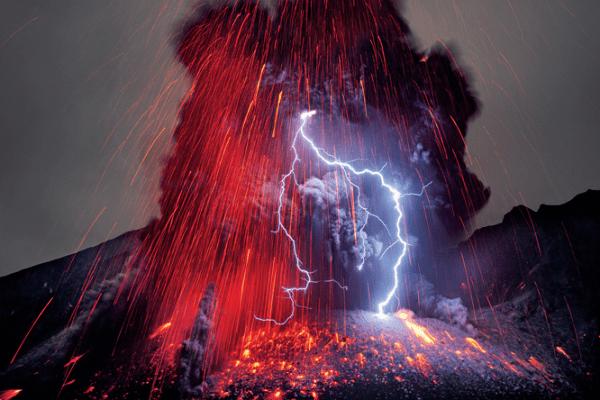 Volcanic lighting