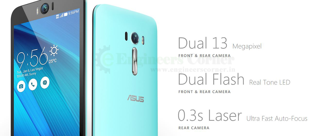 ASUS Launched Zenfone Selfie Phone