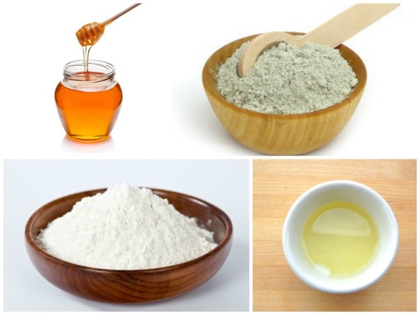 Enhancements Cosmetic Surgery - 5 Homemade Masks For Facelift - Honey Flour Egg Fullers Earth