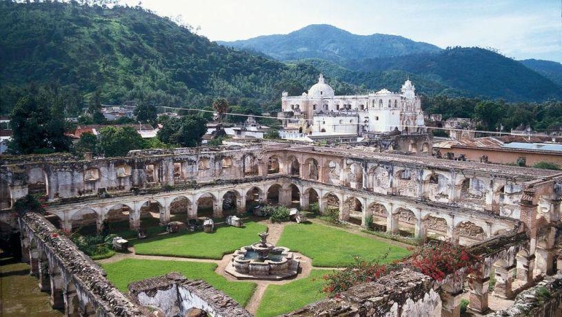 Convento Santa Clara in Antigua Guatemala