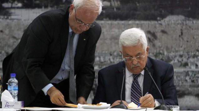Abbas reniega de los Acuerdos de Oslo firmados con Israel