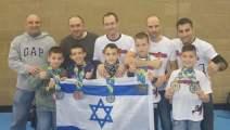 israel obtuvo medallas