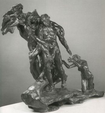 Camille Claudel, L'Âge mûr, vers 1893 – 1900. Sculpture en bronze, Musée Rodin, Paris © Musée Rodin, photographie Christian Baraja